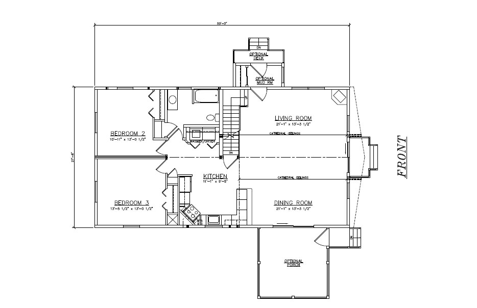 Modular home chalet floor plans Plan chalet